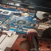 تنظيف كمبيوتر وتغيير مراوح الابتوب بسعر منافس