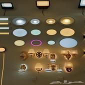 كشافات ولمبات LED وأفياش