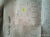 ارضيتين للبيع في الدرب مخطط الجامعه الكدره
