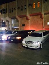 Royal limo ايجار ليموزينات VIP cars  مرسيدس طويلة فاخرة كرأي سلو لنكولن تمييز مع رويال ليمو
