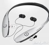 سماعة بلوتوث LG HBS900 درجة اولي (ضمان سنة )