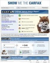 carfax autocheck تقاررير السيارات المستورده