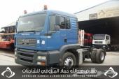 للبيع شاحنة مان شاصي 178413 موديل 2005