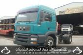 للبيع شاحنة مان شاصي075689 موديل2007