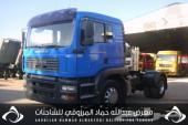 للبيع شاحنة مان شاصي 171157 مزديل 2004