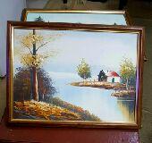 للبيع لوحات فنية أعمال يدوية رسم زيت