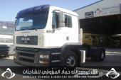 للبيع شاحنة مان شاصي 500180موديل2008