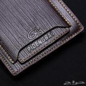 محفظة جلد مستوردة مناسبة لرجال الأعمال