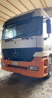شاحنة راس اكتروس عدد ثلاثة وراس فولفو 2007