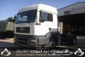 للبيع شاحنة مان شاصي450570موديل2006