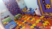 غرفة نوم اطفال شبه جديده