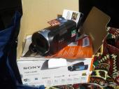 كاميرا فيديو سوني جديده كامل الاغراض
