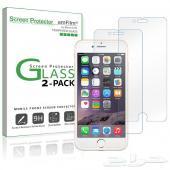 غطاء شفاف لحماية شاشة الايفون 6 و 6s ضد الكسر