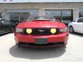 2012 فورد موستنج GT 5.0L V8 لون احمر جير عادي