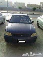 سيارة اكسنت للبيع موديل 2001