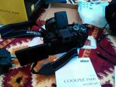 كاميرا شبه احترافيه نيكون P600