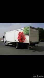 للبيع برادة شاحنة ألمانية وشغاله كهرباء