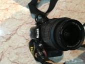 للبيع كاميرا نيكون nikon d3200