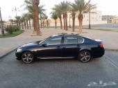 لكزس GS430 كحلي وداخليه جملي سعودي مميز