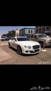 بنتلي GT speed 12v موديل 2014