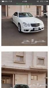 مرسيدس E550 أبيض