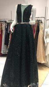 فستان سهره زيتي راقي وانيق