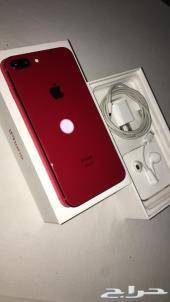 ايفون 8 بلس 256 GB احمر
