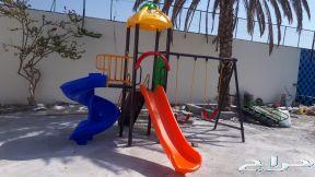 عرض العيد مراجيح زحاليق الألعاب اطفال مائيه