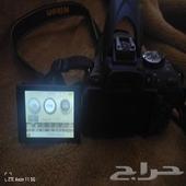 كاميرا D5200 Nikon شبه جديده