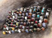 عرض لعشاق خواتم الفضه والاحجارالكريمه النادرة
