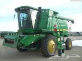 2001 تراكتور حصاد جون ديير 9550 بحالة ممتازة
