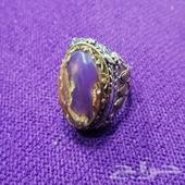 خاتم عقيق يماني مرجاني (( على السوم))