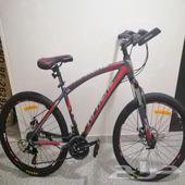 سيكل رياضية اباتشي مع 8 هدايا دراجة اللمنيوم