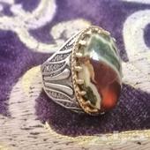 مزاد على السوم خاتم فضه(( المدة ساعتين))