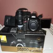 للبيع كاميرا نيكون D5200