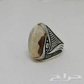 مزاد على السوم خاتم عقيق (( مزاد ساعتين))