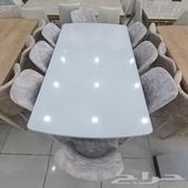 طاولة طعام خشب صناعة تركية نخب اول