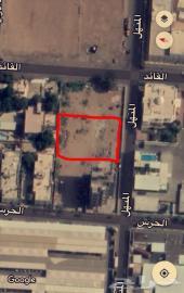 للبيع قطعة أرض لقطة- حي العزيزية1 مساحة2000م
