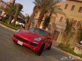 بورش كايين S موديل 2011 احمر  نظيف جداََ