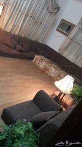 شقة كبيرة بالجبيل للايجار مع أثاث كامل للبيع