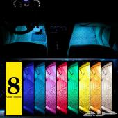 لمبات LED للسيارات 8 ألوان بريموت وأنماط تغير