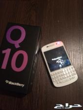 بلاك بيري Q10 ابيض للبيع