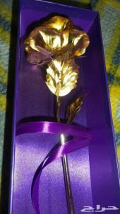 وردة ذهبية هديه لمن تحب (_)