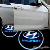 بروجكتر إضاءة للابواب لسيارات هونداي