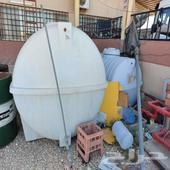 خزانات ماء مستعمل