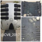 غطاء مكينة كابرس و لومينا 8 سلندر