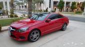 مرسيدس كوبيه E250 2014 احمر-مميز جدا-طلبية