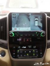 شاشة لاندكروزر 2016 ايباد اندرويد من مركز السيارة الافضل