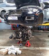 توضيب محركات BMW X6