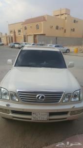 جيب لكزس نوع LX470 موديل2005 للبيع في الرياض